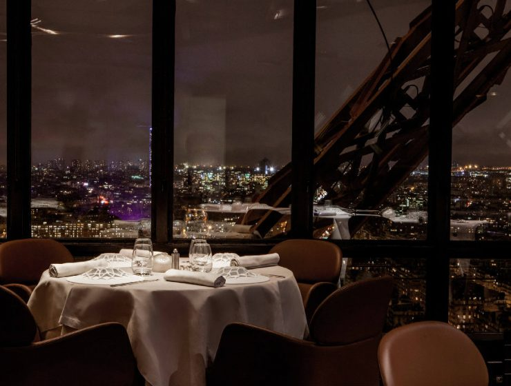 luxury restaurants paris