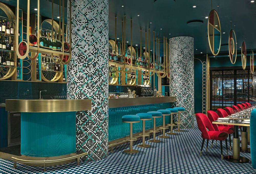 Contemporary Bar Decor Ideas Lion Bar An Art Deco Revamp Bar Furniture