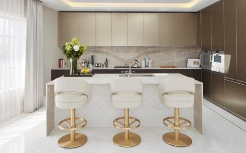 Kitchen Counter Stools Ideas - Russel Bar Chair - Kitchen Decor
